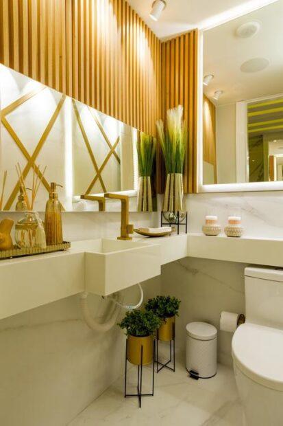 Hotellkänsla i badrummet